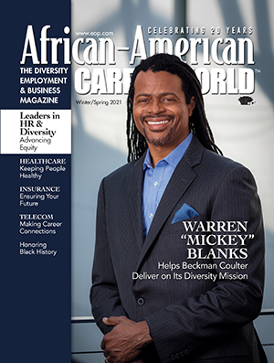 African-American Career World magazine cover
