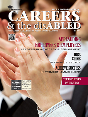 Careers & the disABLED magazine cover
