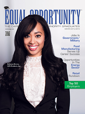 Equal Opportunity magazine cover