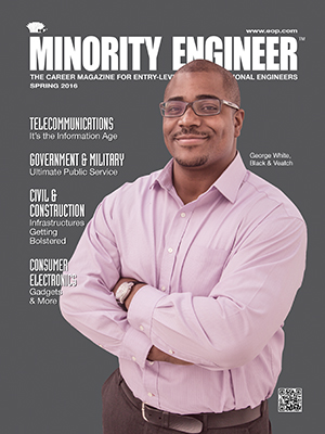 Minority Engineer magazine cover