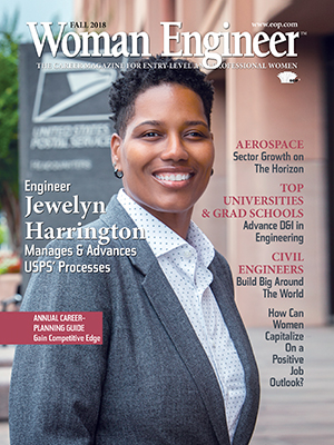 Woman Engineer magazine cover